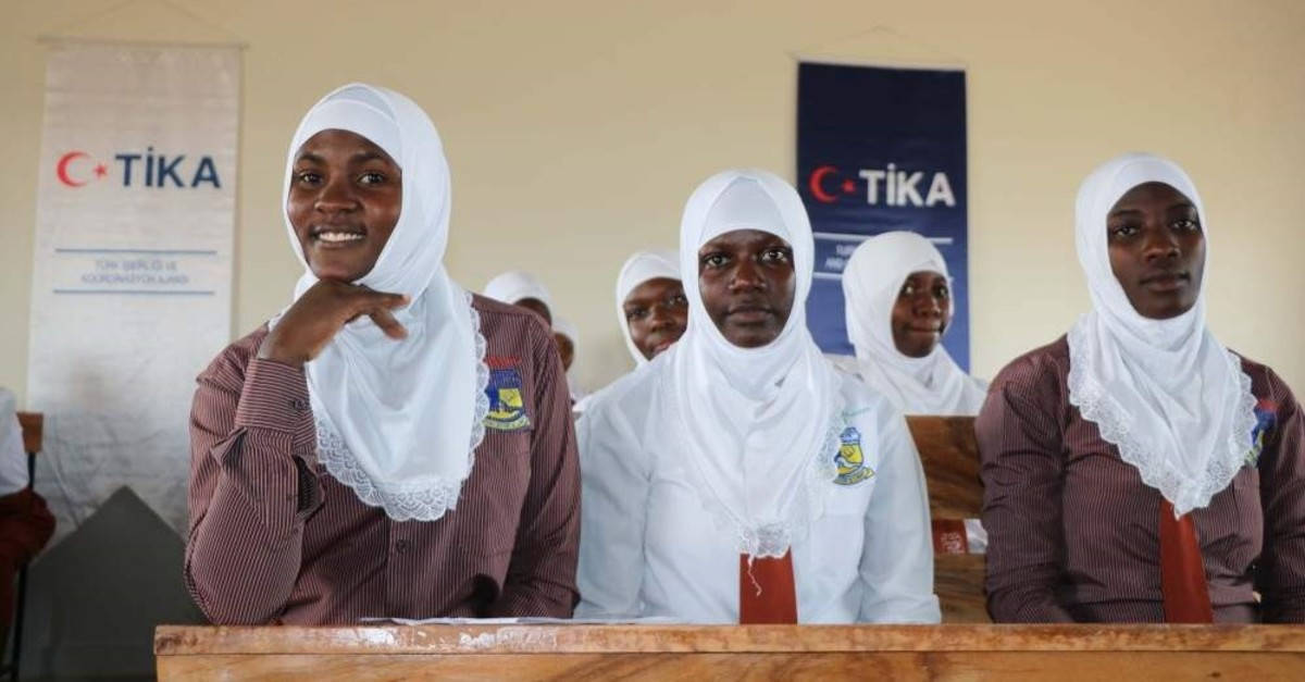 Turkish Cooperation and Coordination Agency (TIKA) has inaugurated a new school building in the Ugandan capital Kampala. (AA Photo)