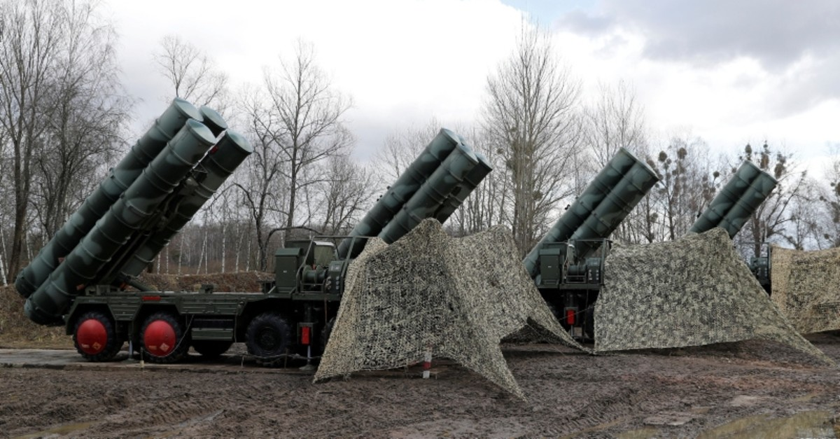 A view shows a new S-400 ,Triumph, surface-to-air missile system after its deployment at a military base outside the town of Gvardeysk near Kaliningrad, Russia March 11, 2019. (Reuters Photo)