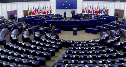 pThe European Parliament has adopted the annual report of Turkey rapporteur Kati Piri, suggesting the suspension of accession talks with Turkey. Ankara says the vote, which is not legally binding,...