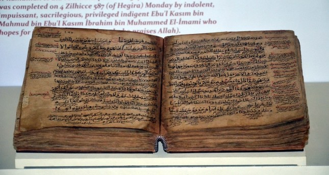 800-year-old rare Quran exhibition attracts visitors