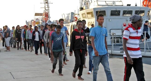 أصبحت ليبيا معبرا لأوروبا، عبر البحر المتوسط للمهاجرين غير الشرعيين (الفرنسية)