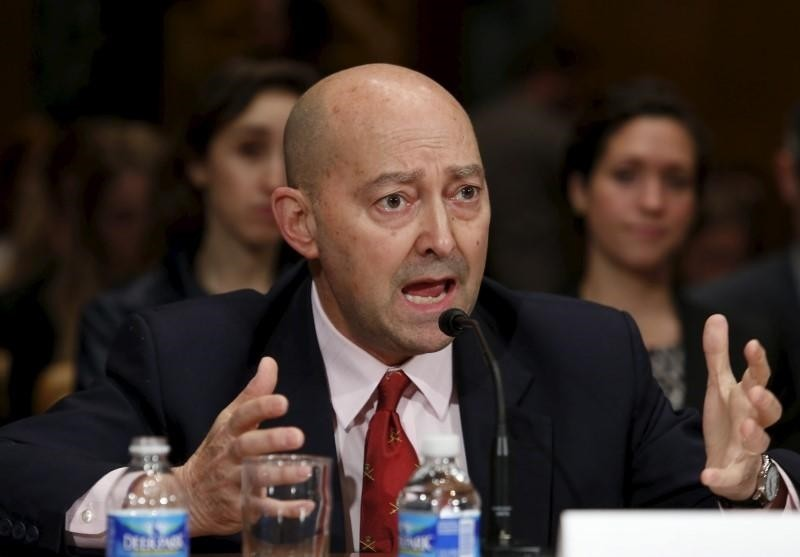 Retired Navy Adm. James Stavridis, former NATO Supreme Allied Commander, testifies before a Senate Appropriations State, Foreign Operations and Related Programs Subcommittee hearing in Washington March 26, 2015. (REUTERS Photo)
