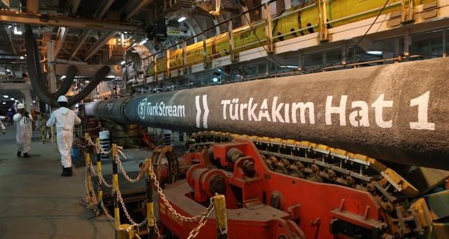 مشروع السيل التركي لنقل الغاز الروسي يشارف على الانتهاء