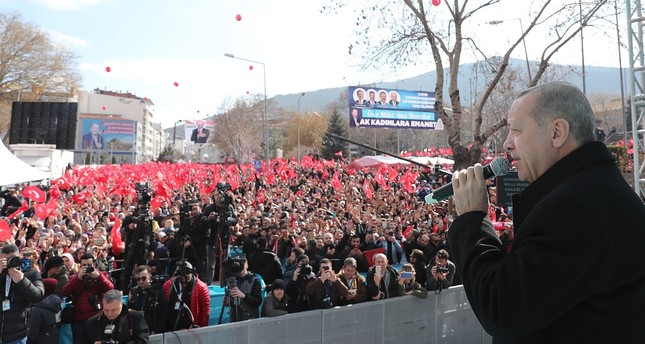 Opposition alliance supported by terrorist groups, Erdoğan says