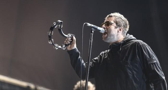 Liam Gallagher performed in Istanbul's Küçükçiftlik Park on Aug. 14.
