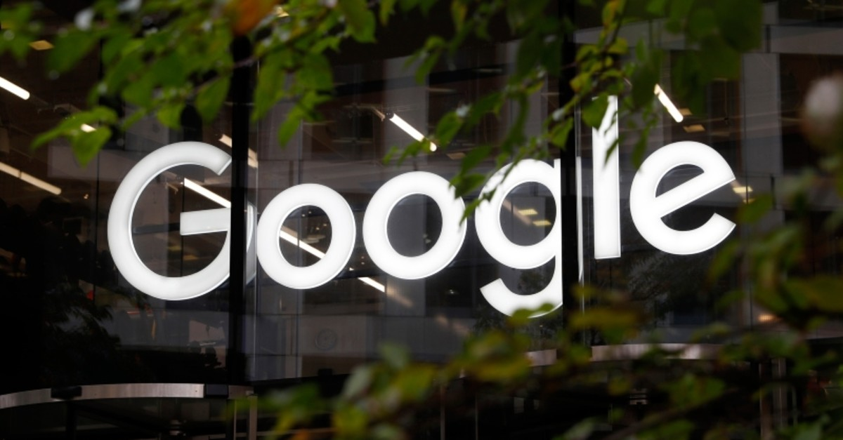 This Nov. 1, 2018, file photo shows a photo of the Google logo at their offices in Granary Square, London. (AP Photo)