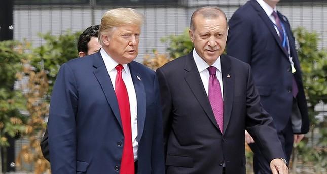 Erdoğan, Trump agree to better coordination in Syria