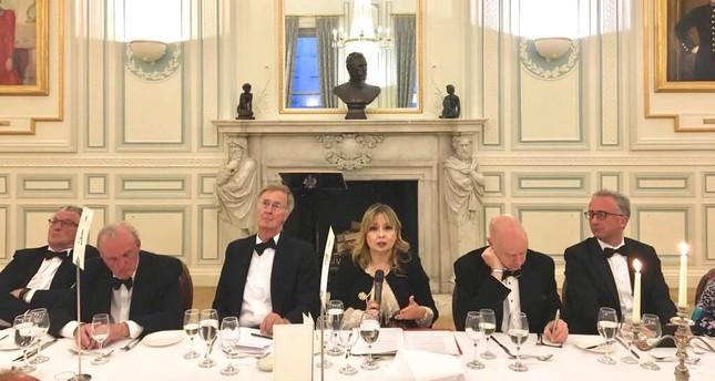Erdoğan's adviser Gülnur Aybet addresses defense forum in London