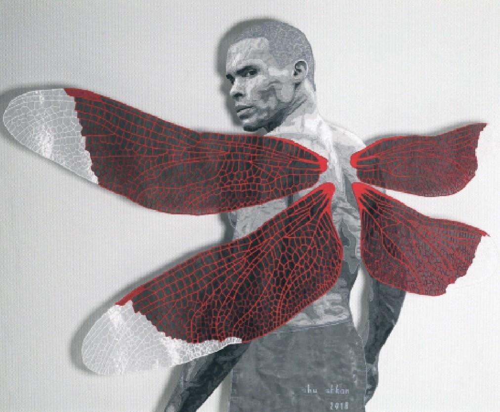 Ahu Akkan, u201cDragonfly III,u201d  2018 from the exhibition u201cShaken Image.u201d