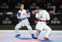 Turkish karateka wins silver at world championships