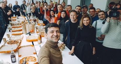 Партия «Слуга народа» выдвинула шоумена Зеленского кандидатом в президенты Украины