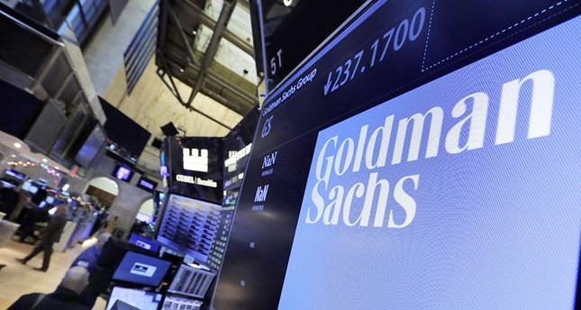 In this Tuesday, Dec. 13, 2016, file photo, the logo for Goldman Sachs appears above a trading post on the floor of the New York Stock Exchange. (AP Photo)