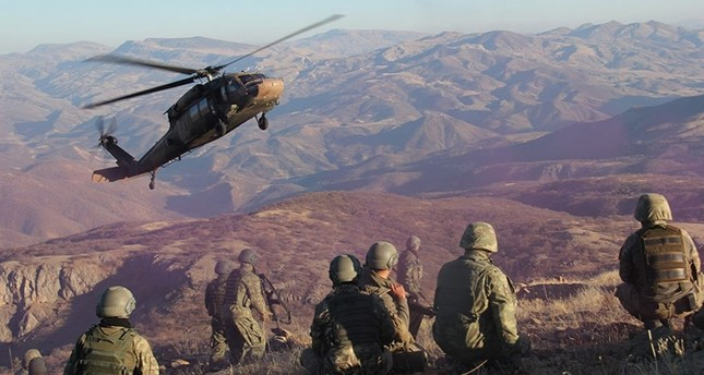 15 PKK terrorists killed in airstrikes in Turkey, northern ...