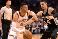 Westbrook closes in on NBA history with 40th triple-double