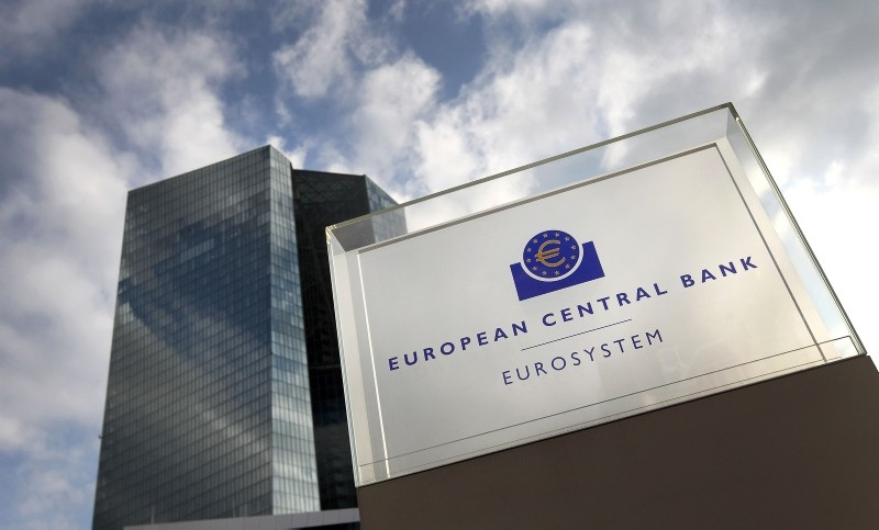 In this file photo taken on Dec. 13, 2018, the headquarters of the European Central Bank (ECB) is seen in Frankfurt am Main, western Germany. (AFP Photo)