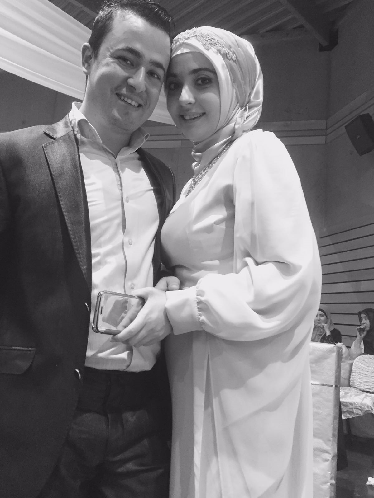 Ferhat u00d6nder and his wife