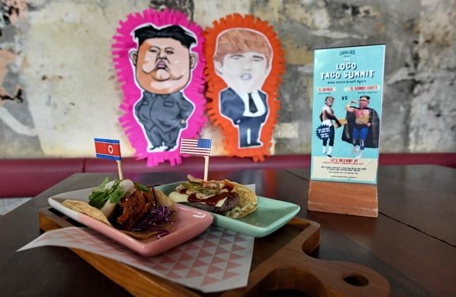 Image result for singapore trump kim summit food