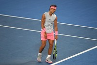 Cilic in Australian Open semifinals after injured Nadal retires