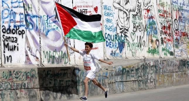 من ماراتون فلسطين (أرشيف)
