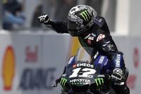 Yamaha rider Vinales wins Malaysian MotoGP ahead of charging Marquez