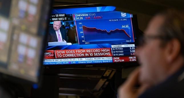 سوق الأسهم يواجه أكبر تراجع له منذ 2008 نتيجة المخاوف من انتشار فيروس كورونا