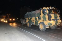 First Turkish military convoy enters Syria's Idlib, increasing hopes for peace