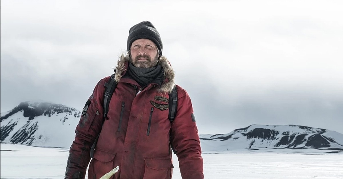 Actor Mads Mikkelsen in the film u201cArctic.u201d