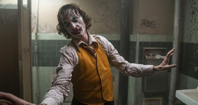 This image released by Warner Bros. Pictures shows Joaquin Phoenix in a scene from Joker. AP Photo