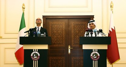 pQatar has concluded a 5 billion euro ($5.91 billion) deal with Italy for seven navy vessels, the Qatari foreign minister said on Wednesday, part of a military cooperation agreement between the two...
