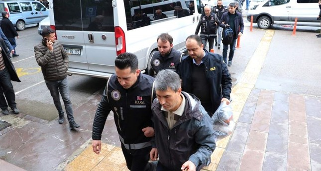 64 arrested in nationwide operations against FETÖ
