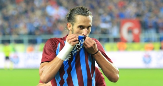 Trabzon's young gun Yusuf Yazıcı gave his team the second goal