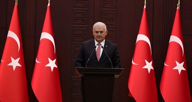 Prime Minister Binali Yıldırım speaks during a press conference in Ankara, Turkey, 27 June 2016 (EPA Photo)