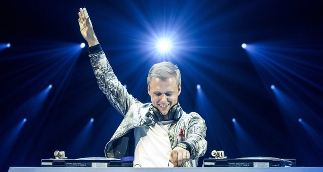 DJ Armin van Buuren performs on stage in Istanbul, 2016. (FILE Photo)