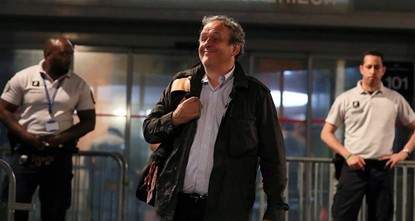 Экс-президент УЕФА Платини освобожден из-под стражи