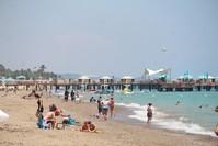 من شواطئ أنطاليا الأناضول