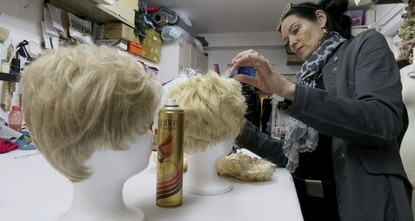 pSo many people want to be Donald Trump this Carnival season in Austria that some costume shops have run out of wigs mimicking the U.S. president's memorable hairstyle./p  pShop owner Manuela...