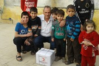 Turkish Red Crescent sends toys to children in Azaz