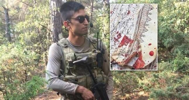 استشهاد جندي تركي لدى محاولته رفع مصحف فخخه إرهابيو ب ي د في عفرين