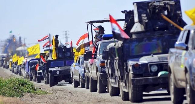 قوات الحشد الشعبي التي يشكل حزب الله العراقي جزءا منها (من الأرشيف)