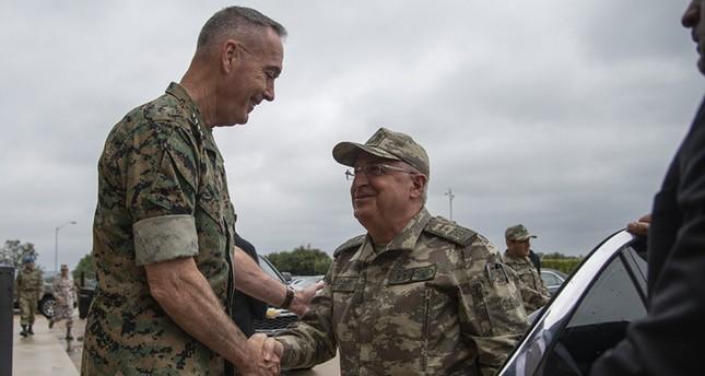 Turkish, US army chiefs discuss Manbij, Daesh