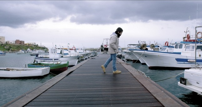 """""""Fuocoammare"""" (Fire at Sea) depicts the Italian island of Lampedusa as a landing ground for African and Middle Eastern refugees hoping to commense a new life."""