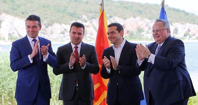 Greece, Macedonia sign deal ending name dispute