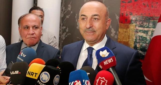 جاوش أوغلو: مشكلتنا مع تنظيمي PKK وPYD الإرهابيين وليس مع إخواننا الأكراد