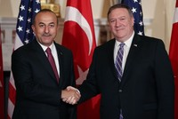 FM Çavuşoğlu, US counterpart Pompeo discuss Syrian crisis in phone call