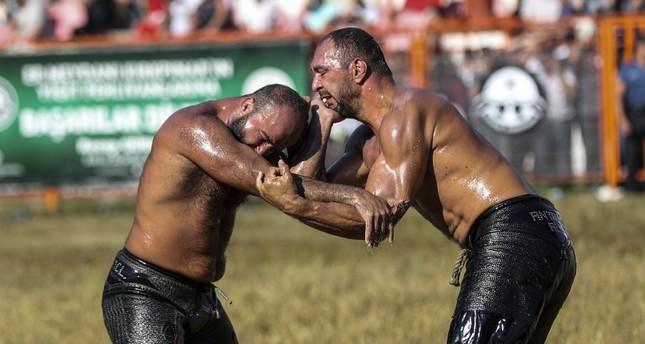 В Турции завершился фестиваль масляной борьбы