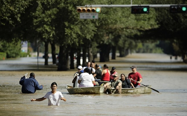 Trump seeks nearly $8 billion from Congress for initial Harvey relief