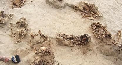 Peru: Massengrab mit geopferten Kindern entdeckt