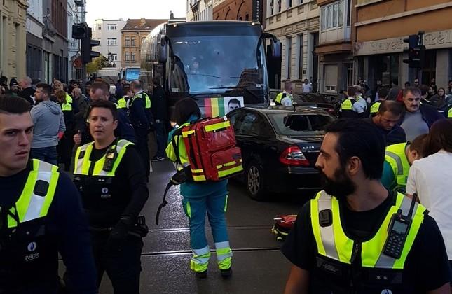 Eight wounded as PKK propagandists attack Turkish neighborhood in Belgium