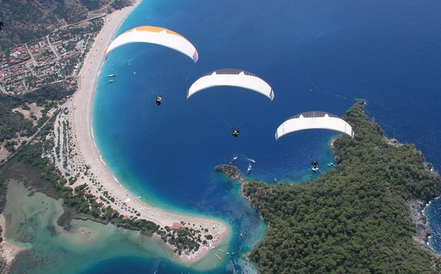 Fly over the best views in Babadağ during the holiday