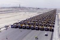 Parade of 1453 trucks makes Guinness record attempt, marks Istanbul's conquest https://t.co/ZtvaCWQA21 pic.twitter.com/II5c6fRKxr